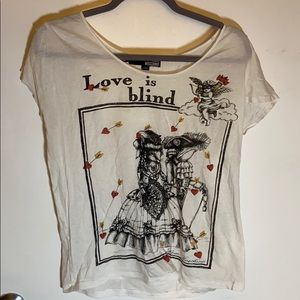 love moschino Love is blind tee shirt